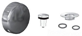 Bathtub Drain Stopper, Watco Innovator Overflow Cover Foot Actuated Stopper,  Bathtub Drain Replacement