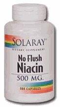 No-Flush Niacin 500mg - 200 - Capsule