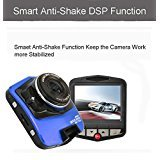 1080P 2.4inch Car DVR Camera Video Recorder (Blue) - 4