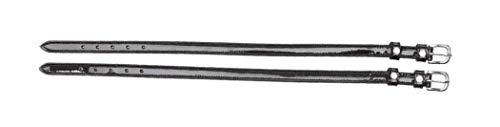 Kavalkade Crystal Rhinestone Patent Leather Spur Straps