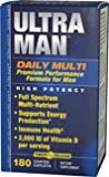 Vitamin World Ultra Man™ Daily Multivitamins, Daily Multi High Potency for man 180 Coated Caplets For Sale