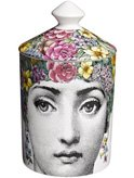 Fornasetti - Scented Candle with Lid - Flora - 300g by Fornasetti Profumi