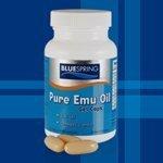 emu oil capsules - BLUESPRING Pure Emu Oil Gel Caps