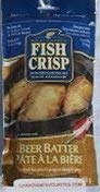 Rocky Madsen's Fish Crisp, Beer Batter, 230 Grams/8 Ounces