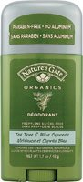 Tea Tree Blue Cypress Organic Deodorant Nature's Gate 1.7 oz Stick ()