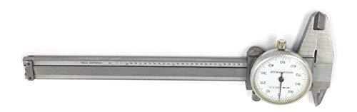 (HHIP 4100-0019 Precision Dial Caliper, 0-4