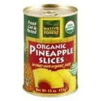Native Forest Organic Pineapple Slices in Organic Pineapple Juice -- 15 oz