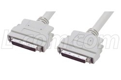 SCSI-2 Molded Cable HPDB50 Male / Male, (Connect Scsi Drive)