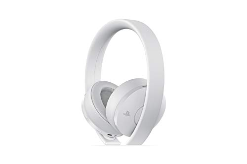 (PlayStation Gold Wireless Headset White - PlayStation 4)