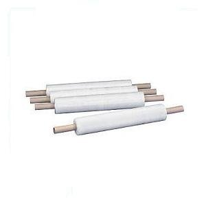 6 ROLLS 400mm WIDE x 300m LONG x 19 micron EXTENDED CORE CLEAR PALLET STRETCH SHRINK WRAP POLYBAGSTORES