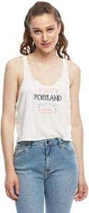 Double Agent Tank Tops For Women, M, White