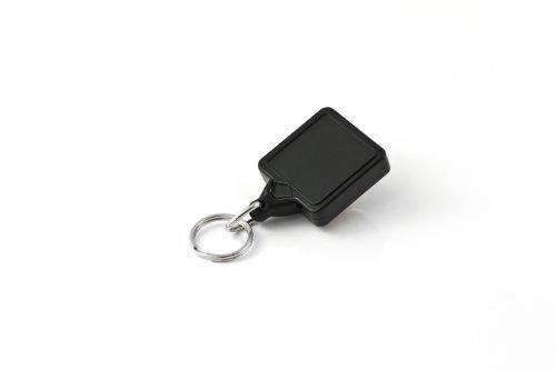 KEY-BAK MINI-BAK Square Retractable Key Holder with 36