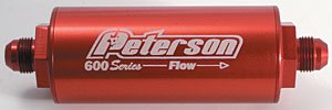 Peterson Fluid Systems 09-0617 8AN 60 Micron Fuel Filter