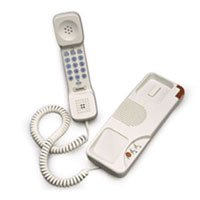 Cetis Teledex Opal Trimline 2 Mwl Two Line Telephone Ash