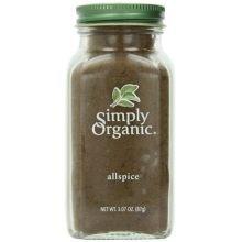 Simply Organic Ground Allspice, 3.07 Ounce - 6 per case.