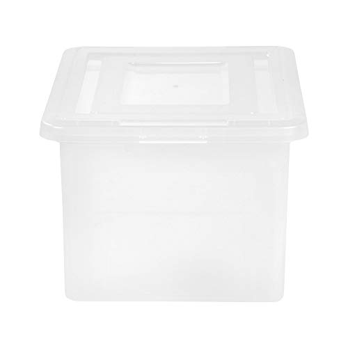 Staples 480548 Letter/Legal File Box Clear ()