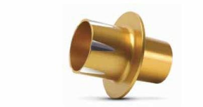 Two Brothers Racing 005-P1-XG P1-X PowerTip Sound Suppressor - Gold