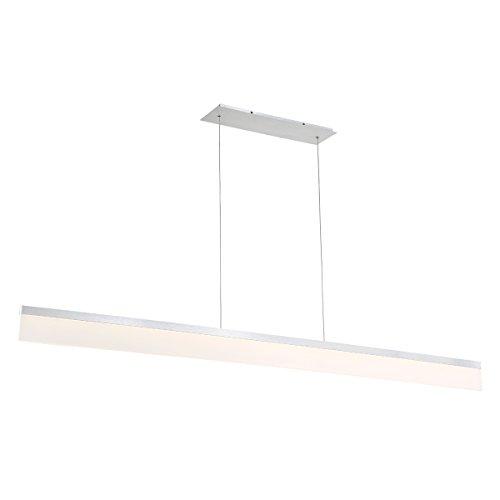 Brushed Aluminum Pendant Light