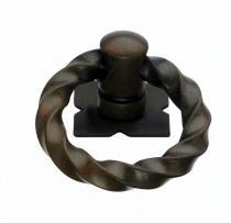 Top Knobs M639 Normandy Twisted Ring Pull Steel