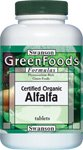 Certifié luzerne biologique 500 mg 360 Tabs