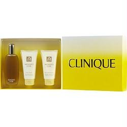Clinique Aromatics Elixir 3pc Holiday Set (3.4 Ounce Perfume Spray, 2.5 Ounce Body Smoother, 2.5 Ounce Body Wash) -