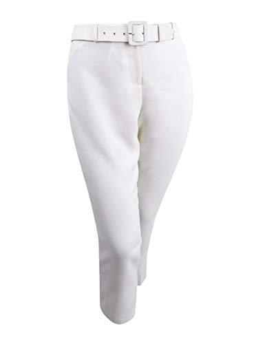 - Tahari ASL Women's Belted Bootcut Pants (16, Cloud)