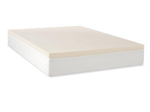 Serenia Sleep Specialities Density Viscoelastic Memory Foam Mattress Pad Bed Topper Queen