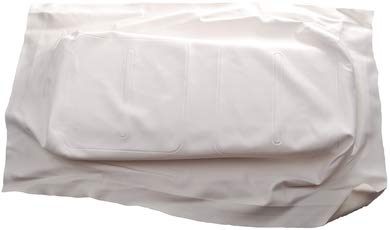 (EZGO TXT Golf Cart WHITE Replacement Bottom Seat Cover 1994 & Up)