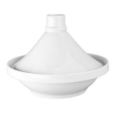 BIA Cordon Bleu White Porcelain 24 ounce Small Tagine