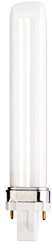 (Case of 50) Satco S8312 - CFS13W/841 13-Watt 4100K Single Tube 2-Pin GX23 Base T4 Compact Fluorescent Lamp by Satco