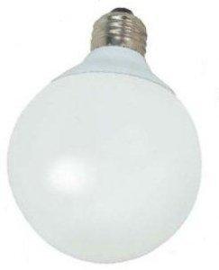 Satco 15W G30 Globe 4100K CFL - S7305