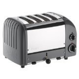 Dualit 4 Slice Classic Toaster, Cobble Gray