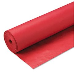Price comparison product image Pacon ArtKraft Duo-Finish Paper Roll,  4-feet by 200-feet,  Scarlet (67044)