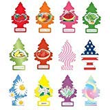 Little Trees air Fresheners Scents of Summer Variety 12 Pack