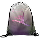 SAXON Unisex Playful Baton Twirling 2 Drawstring Backpack]()