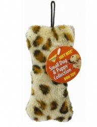 Leopard Print Skins Bone Dog Toy, My Pet Supplies