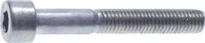 Zylinderschraube DIN 912 Stahl schwarz 12.9 Werkstoff:Stahl schwarz 12.9 d:M 8 l:80mm b:28 M 8x80