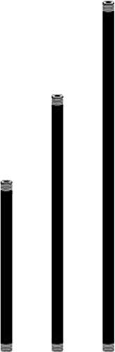 Kichler 15657BBR Accessory Stem 1/2NPSM 18-Inch, Bronzed Brass