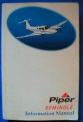 Piper Seminole (Information Manual)