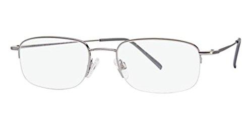 Flexon Flx 806Mag-Set Eyeglasses 033 Light Gunmetal Demo ...