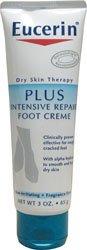 Eucerin plus Réparateur Intensif Crème pieds - 3 OZ