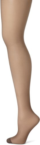 Hanes Women's Silk Reflections Panty Hose, Barely Black, C/D