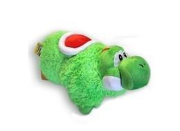 Super Mario Bros Yoshi Transforming Pet Pillow Nap Sleep Car Cushion Plush Doll 1 Piece
