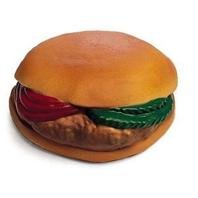 SPOT Vinyl Hamburger with Tomato & Pickle Dog Toy (Best Pickles For Hamburgers)