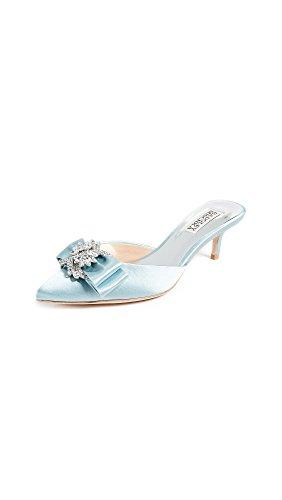 Badgley Mischka Womens Hagen Pump Blu Cristallo