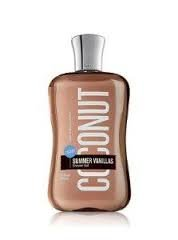 Bain & Body Works Signature vanilles coco douche Gel 10 Fl Oz
