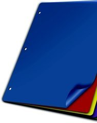 Cardinal 84018 Poly Dividers44; 5 Tab44; WO Pockets44; Multicolor