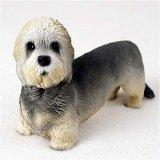 Dandie Dinmont Original Dog Figurine (4in-5in) (Dandie Dinmont Terrier Dog Figurine)