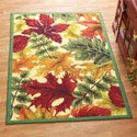"""Colorful Autumn Leaves Rug, Skid Resistant, 22"""" X"""