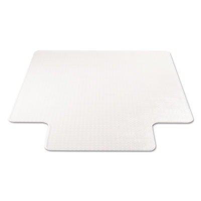 Supermat Studded Beveled Mat (deflect-oamp;reg; - SuperMat Studded Beveled Mat for Medium Pile Carpet, 36w x 48h, Clear - Sold As 1 Each - Studded.)